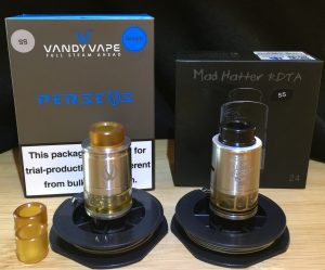 Vandy Vape and Advken RDTAs
