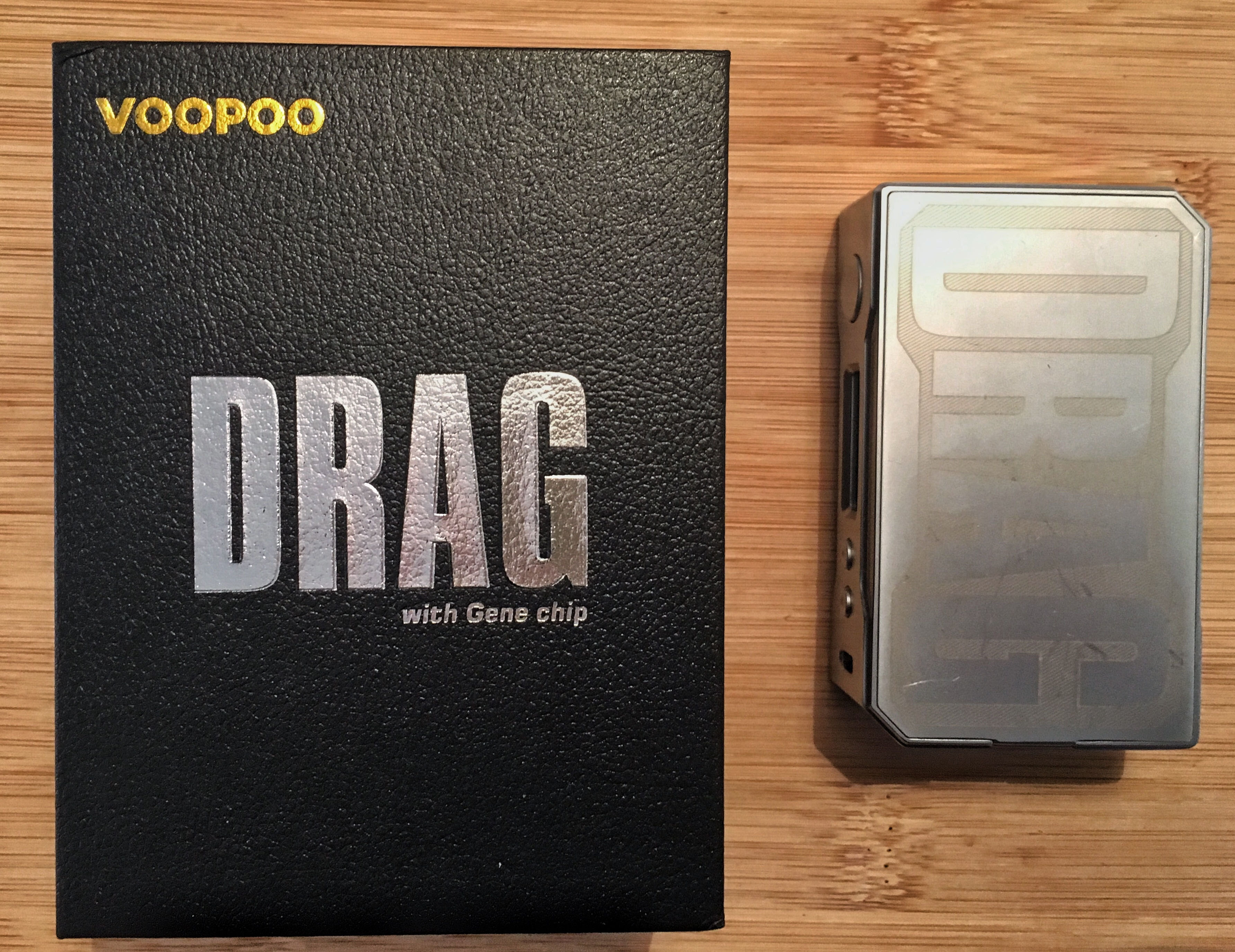 VOOPOO DRAG 157 - What's in a name? - VapingBiker co uk